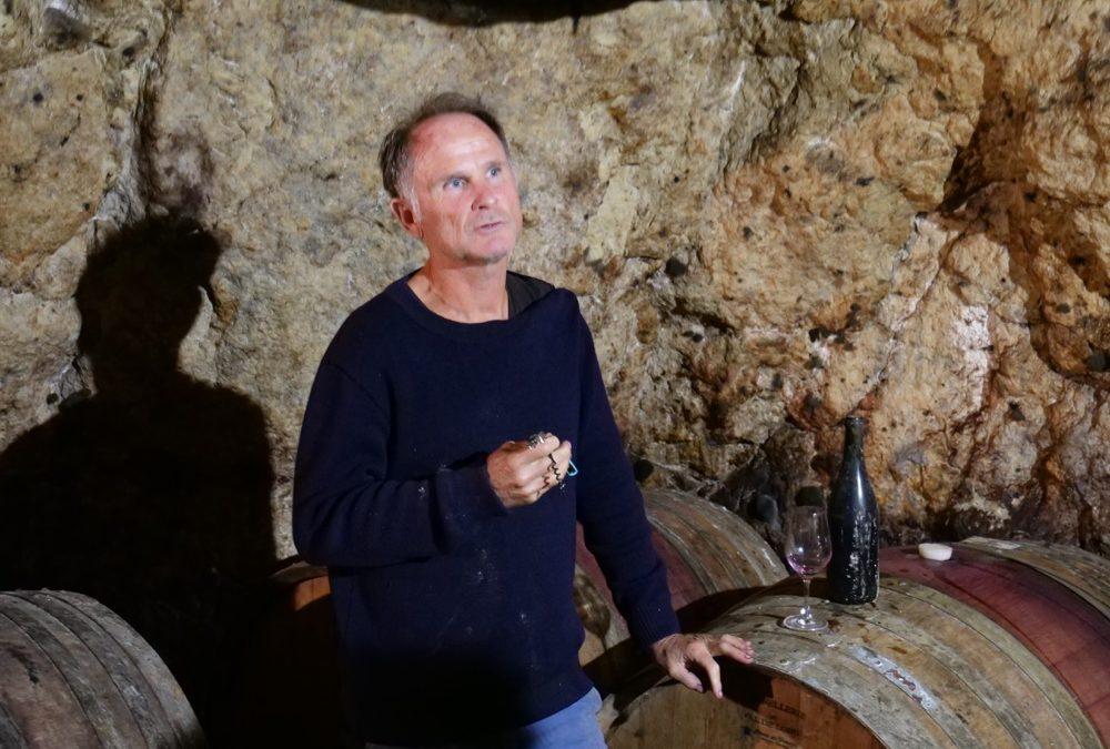 Dans la cave de Pierre Breton