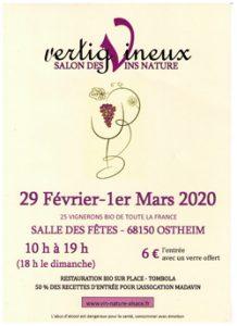 Vertigineux - Salon des vins nature @ Salle des Fêtes