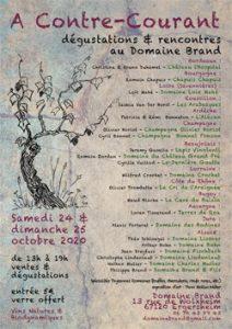 A Contre Courant @ Domaine Brand 67120 Ergersheim