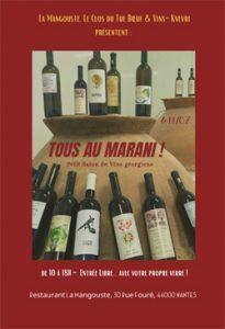 Tous au Marani ! Petit Salon de Vins Géorgiens @ Restaurant la Mangouste