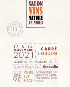 Salon Vins Nature en Nord @ Carré du Hélin
