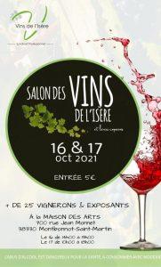 Salon des vins de l'Isère et leurs copains @ Maison des arts